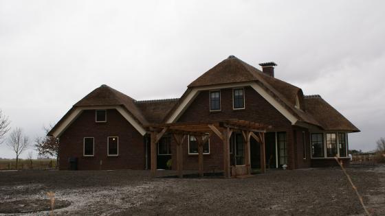 Nieuwbouw Landhuis Uithuizermeeden
